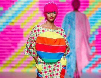 Ágatha Ruiz de la Prada trae arcoíris de colores para primavera/verano 2015 en Madrid Fashion Week