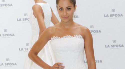 Hiba Abouk presenta en Madrid la nueva colección nupcial de La Sposa