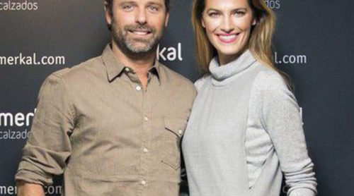 Laura Sánchez y David Ascanio presentan la nueva colección de calzado de Merkal