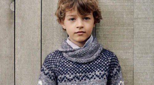 Zara Kids viste a los más pequeños de azul marino, gris y marrón en este otoño 2014