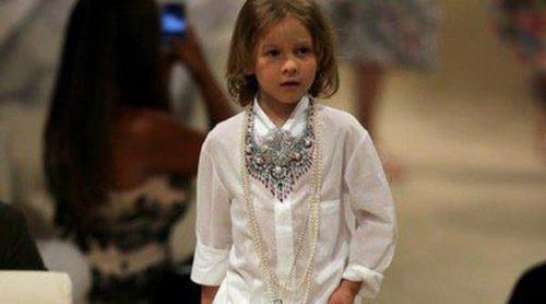 Hudson Kroenig, el modelo de seis años más joven de Chanel