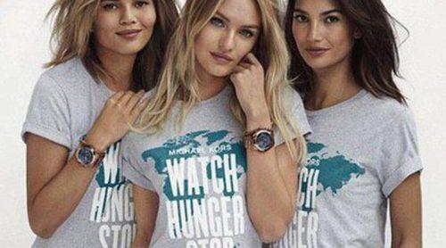 Candice Swanepoel, Chrissy Teigen, Lily Aldridge y la firma Michael Kors luchan contra el hambre mundial