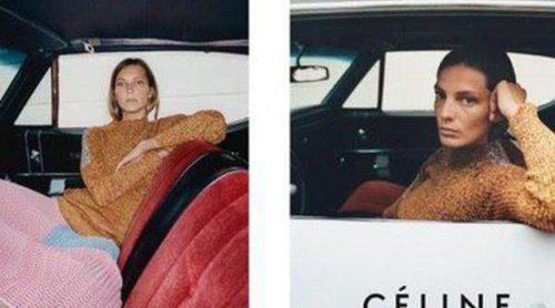 Céline y Daria Werbowy: el binomio que vuelve una temporada más