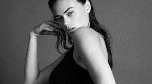 Calvin Klein desata la polémica: anuncia sus 'tallas grandes' con una modelo de la talla 40