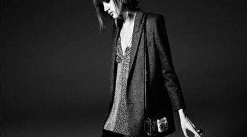 Valery Kaufman descubre su lado más rebelde en la colección de Saint Laurent Paris otoño/invierno 2014/2015