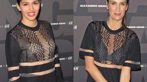 ¿Quién lo lleva mejor? Sara Sálamo y Elia Galera lucen el mismo vestido de Alexander Wang
