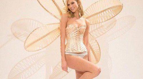 Los ángeles de Victoria's Secret ultiman los preparativos para el gran desfile