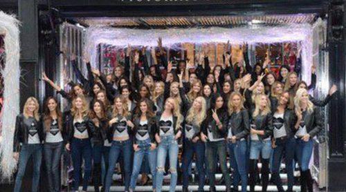 Los Ángeles de Victoria's Secret, preparadas para el gran desfile en Londres