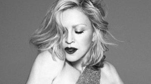 Madonna vuelve a impresionar al mundo convirtiéndose en la nueva imagen de Versace