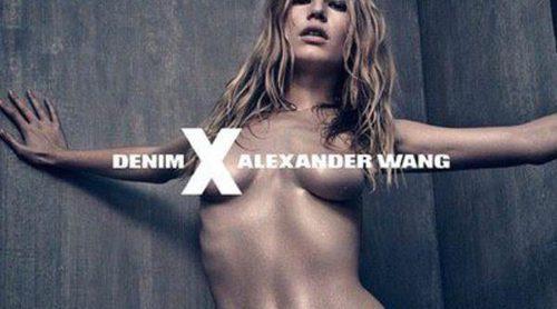 Alexander Wang sorprende con una provocativa y sexy Anne Ewers en su nueva campaña #DENIMxAW