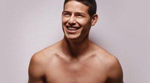 James Rodríguez presume de músculos con su nueva colección 'J10 James' para Bronzini Black