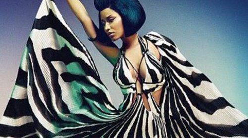 Nicki Minaj luce sus increíbles curvas en la nueva colección de Roberto Cavalli