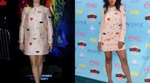 ¿Quién lo lleva mejor? Kerry Washington y Maya Rudolph lucen el mismo vestido de Stella McCartney