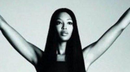 Naomi Campbell, imagen de la nueva colección de Pinko para primavera 2012