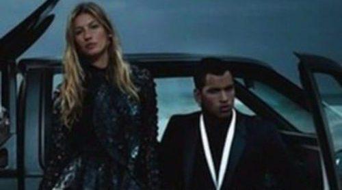 Gisele Bündchen, muy sexy, pesenta la colección de primavera 2012 de Givenchy