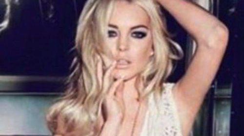 Lindsay Lohan protagoniza una sensual campaña para Jag Jeans