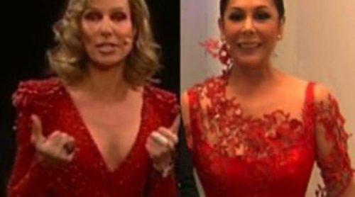Duelo de estilismos en las Campanadas 2011: Anne Igartiburu vs. Isabel Pantoja