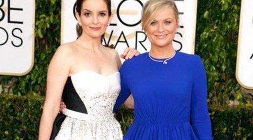 Los tres looks de Tina Fey y Amy Poehler en los Globos de Oro 2015
