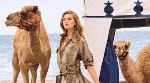 Sanne Vloet se adentra en un lujoso safari para la nueva campaña de Ralph Lauren