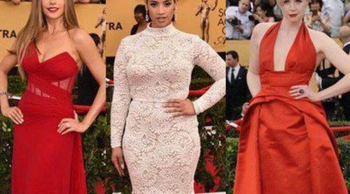 La alfombra roja de los SAG Awards 2015, un despliegue de glamour y espectáculo