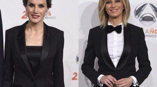 La Reina Letizia y Susanna Griso comparten gusto y estilo