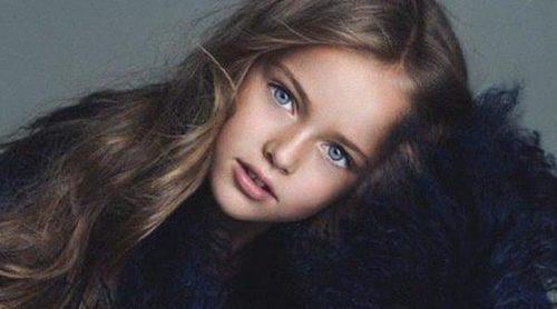 Un trámite burocrático 'baja' de la 080 Barcelona Fashion a la modelo de nueve años Kristina Pimenova