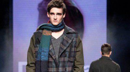 Desigual apuesta en la 080 Barcelona Fashion por los cuadros Oxford para el otoño/invierno 2015/2016
