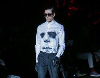 Davidelfin presenta su Infierno en blancos y negros para otoño/invierno 2015/2016 en Madrid Fashion Week