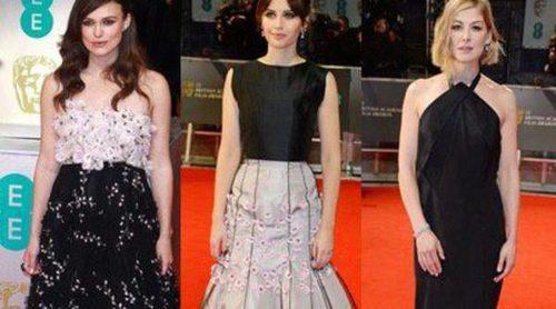 Rosamund Pike, Felicity Jones y Keira Knighthley, entre las peor vestidas de los BAFTA 2015