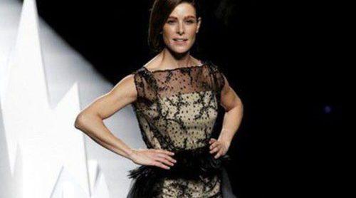 Raquel Sánchez Silva presenta el 'Après Ski' de Ion Fiz en Madrid Fashion Week