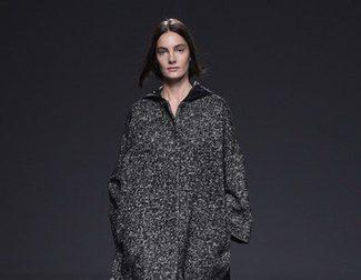 Lo oversize y lo neutro se apodera del otoño/invierno 2015/2016 de Ángel Schlesser en Madrid Fashion Week