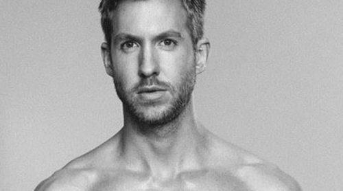 Calvin Harris se quita la ropa para la colección primavera/verano 2015 de Emporio Armani