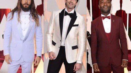 Jared Leto, Adrien Brody y David Oyelowo bañan de color la alfombra roja de los Oscar 2015