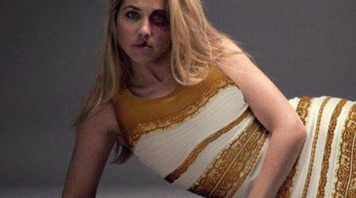 The Dress ahora sí es blanco y dorado por una buena causa