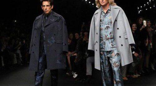Zoolander y Hansel invaden la sobria pasarela de Valentino en Paris Fashion Week