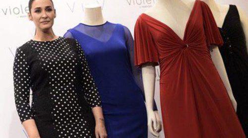 Vicky Martín Berrocal presenta sus seis vestidos de cocktail en 'V in V' de Violeta by Mango