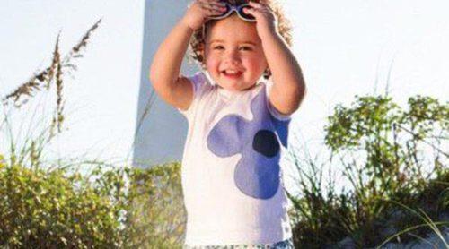 La pequeña Salomé sigue los pasos de su padre James Rodríguez y posa para la firma EPK Colombia