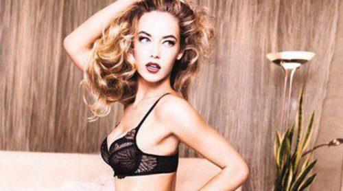 Triumph ficha a una sexy Hannah Ferguson para su primavera 2015