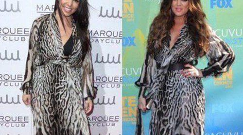Kourtney Kardashian y Khloé Kardashian: dos hermanas y un mismo Roberto Cavalli