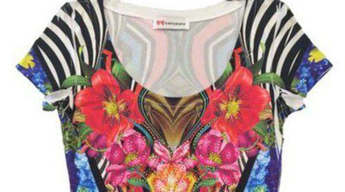 Estampados florales y salvajes protagonizan la primavera 2015 de Barbarella