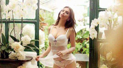 Emily Ratajkowski, la novia perfecta para Yamamay y su nueva colección 'Wedding'