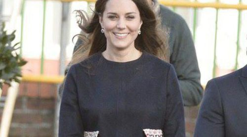 Looks premamá: Kate Middleton se recicla en su segundo embarazo
