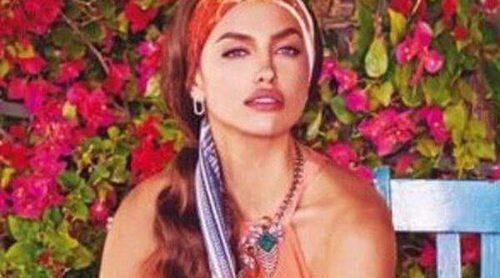 Irina Shayk, embajadora de la colorida y geométrica colección verano 2015 de Bebe