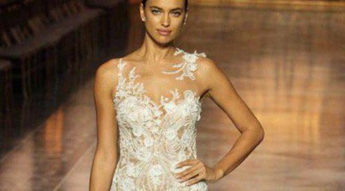 Irina Shayk, la reina indiscutible de Pronovias en la Barcelona Bridal Week 2015