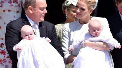 Los Príncipes Jacques y Gabriella de Mónaco, dos 'Baby Dior' el día de su bautizo
