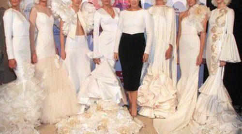 Los aires flamencos regresan a la moda nupcial de la mano de Vicky Martín Berrocal