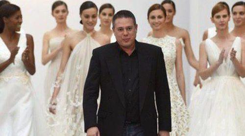 La Pasarela Costura de Madrid recibe a Hannibal Laguna y su nueva colección nupcial