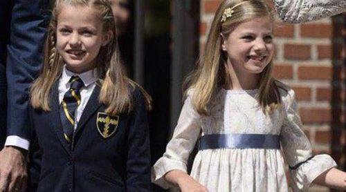 La Princesa Leonor, eclipsada por su hermana Infanta Sofía con su look de Nanos