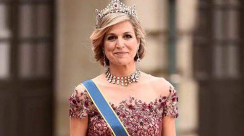 Duelo de invitadas: Máxima de Holanda eclipsa a Mette-Marit de Noruega en la Boda Real de Suecia