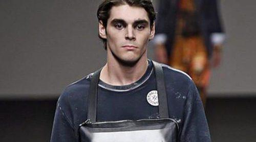 RJ Mitte, el invitado de Vivienne Westwood en la Milan Fashion Week Menswear
